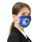 7 in. x 4.5 in. Reusable Pleated Mask