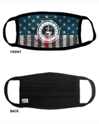 American Flag Sportsman Maverick Comfort Face Masks