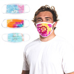 Tie-Dyed Sportsman Maverick Comfort Face Masks
