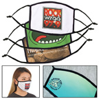 Full Color Reusable Cotton Face Mask w/Dye Sublimation