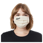 Organic Cotton Pleated Mask