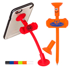 Goofy Bendy Pen Cell Phone Stand