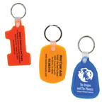 Soft Squeezable Key Tags