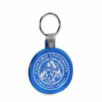 Round Soft Squeezable Key Tag