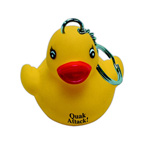 Rubber Duck Key Tag