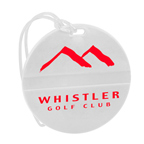 Round Golf Bag Tag