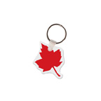 Maple Leaf Shape Key Tag