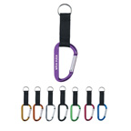 8mm Carabiner with Strap