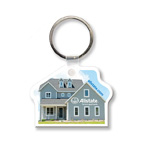 Full Color House Key Tag