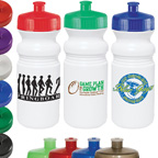20 Ounce Water Bottle with Sports Grip
