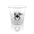 Soft sided cup 3.5 oz clear or frosted