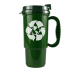 The Commuter Insulated Auto Travel Mug 16 ounce - Recycled