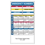 4 x 7 Stock Background Calendar Magnet