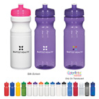 Poly-clear� 24 Oz. BPA Free Fitness Bottle