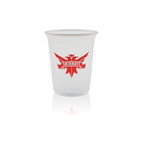 Soft sided cup 12 oz clear or frosted