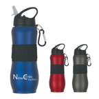 28 Ounce Stainless Steel Sport Grip Bottle