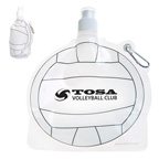 HydroPouch 24 oz. Volley Ball Collapsible Water Bottle