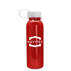 24 OZ Metalike Outdoor Bottle with Tethered Lid