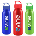 24 OZ Metalike Outdoor Bottle with Crest Lid