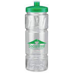22 oz Pulse Bottle with Low Profile Push Pull Lid