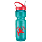 26 OZ Translucent Jogger Bottle (Sport Sip Lid Without Straw)