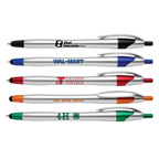 Javalina Chrome Pen with Stylus