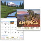 Landscapes of America 13 Month Wall Calendar