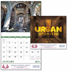 Urban Exploration 13 Month Wall Calendar