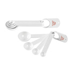 Set Of Four Measuring Spoons
