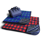 50 x 60 Fleece / Nylon Picnic Blanket