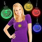 Light up Colored Medallion with Hook
