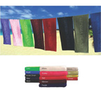 Color Velour Beach Towel
