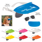 Two Tone Visor Sunglasses