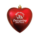Heart Shatterproof Ornament