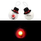 65 MM LED Snowman Ornament