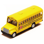 Miniature Toy Bus