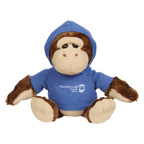 6 Inch Goofy Plush Gorilla With Hoodie