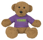 8 Inch Ole Time Plush Rag Bear With Shirt