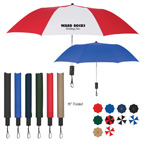 44 Inch Arc Auto-Open Folding Umbrella