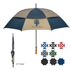 68 Inch Arc Vented Windproof Umbrella