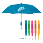 42 Inch Arc Neon Telescopic Folding Umbrella