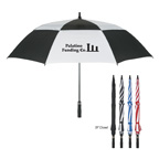 58 inch Golf Windproof Vented Umbrella