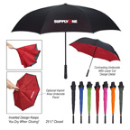 48 Inch Arc Two Tone Inversion Umbrella